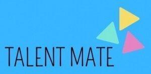 Talent Mate Logo Blue